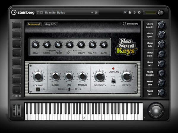 Neo Soul Keys - Instrument View