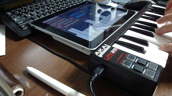 Teclado controlador para iPad - AKAI LPK-25