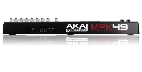 Painel traseiro - AKAI MPK-49