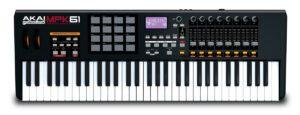 1AKAI MPK-61 - Teclado controlador MIDI