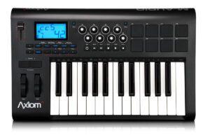 Painel Frontal - Teclado controlador M-Audio Axiom 25