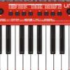 Painel frontal - Teclado controlador Behringer UMX-250