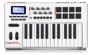 Painel Frontal - Teclado controlador M-Audio Axiom Pro 25