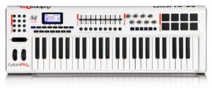 Painel frontal - Teclado controlador M-Audio Axiom Pro 49