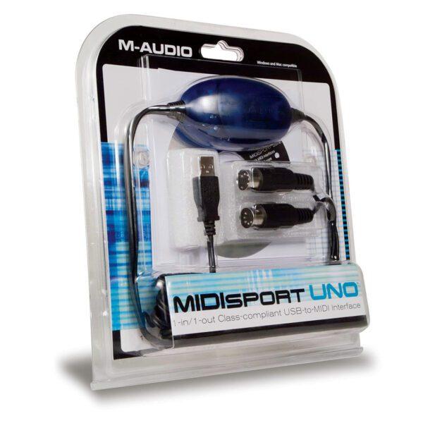 Interface de MIDI para USB - M-Audio Midisport UNO