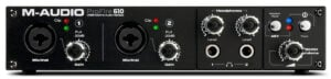 Painel frontal - M-Audio ProFire 610