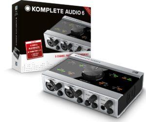 Interface de áudio Native Instruments Komplete Audio 6 USB
