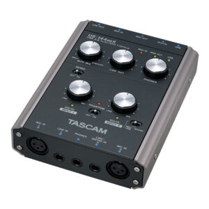Interface de áudio Tascam US-144 MKII