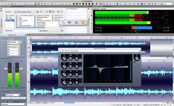 WaveLab - Metering & EQ