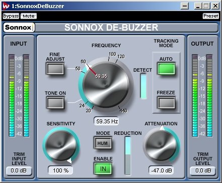 WaveLab - Sonnox DeBuzzer