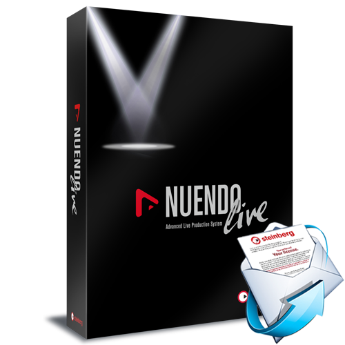 Nuendo Live - Live Recording Software (AC)