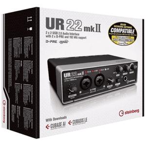 Steinberg UR22 mkII | Interface de Áudio e MIDI