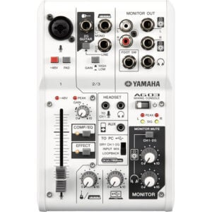 Yamaha AG03 - Interface USB c/ Mixer