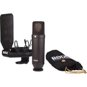 NT1: Shock Mount e Pop Filter Inclusos