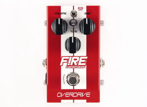 Fire Overdrive - Pedal de Guitarra