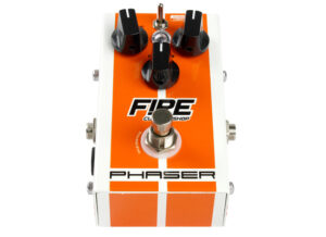 Pedal Phaser - Fire Custom Shop