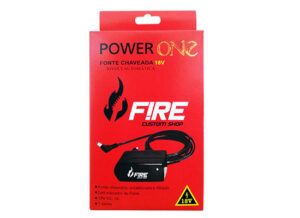 Fonte Power One 18V - Fonte p/ 1 pedal
