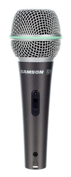 Samson Q4 | Microfone Dinâmico -0
